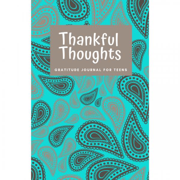 paisley gratitude journal teens