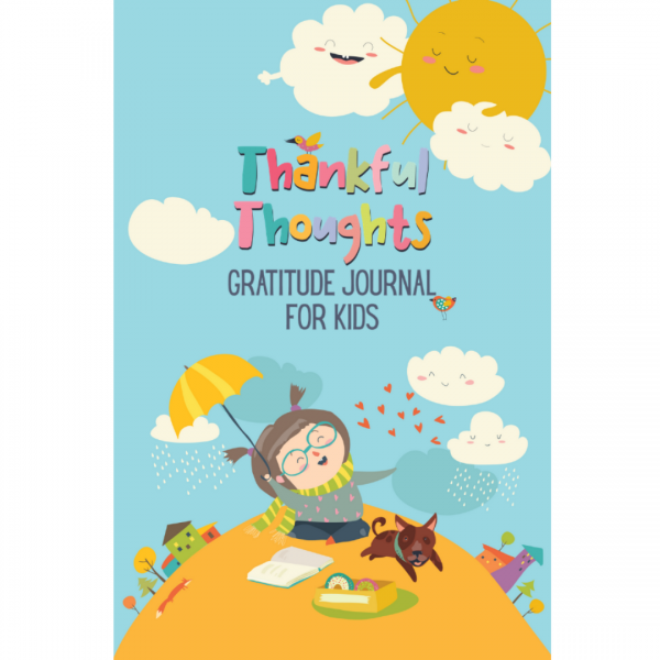 thankful thoughts gratitude journal cover