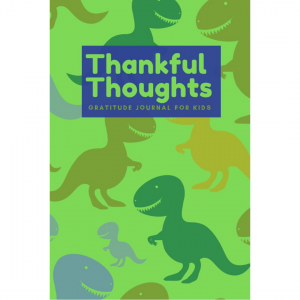 dinosaur gratitude journal cover