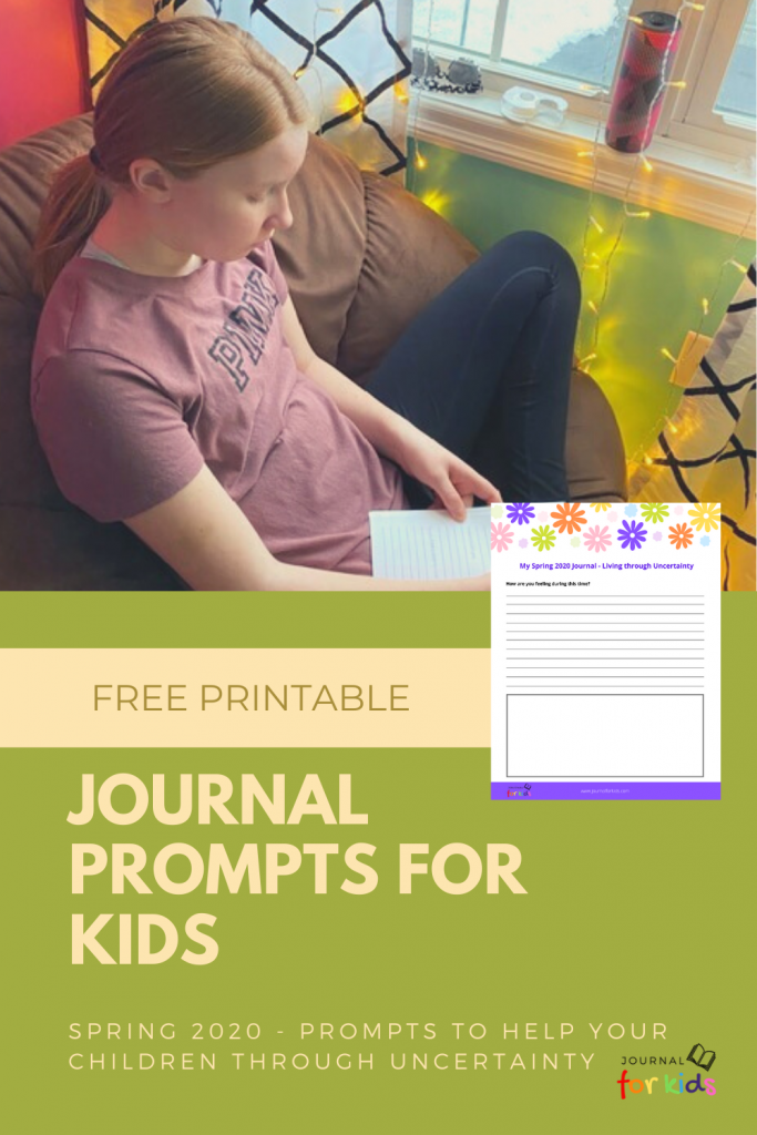 Pandemic Journal Prompts for Kids