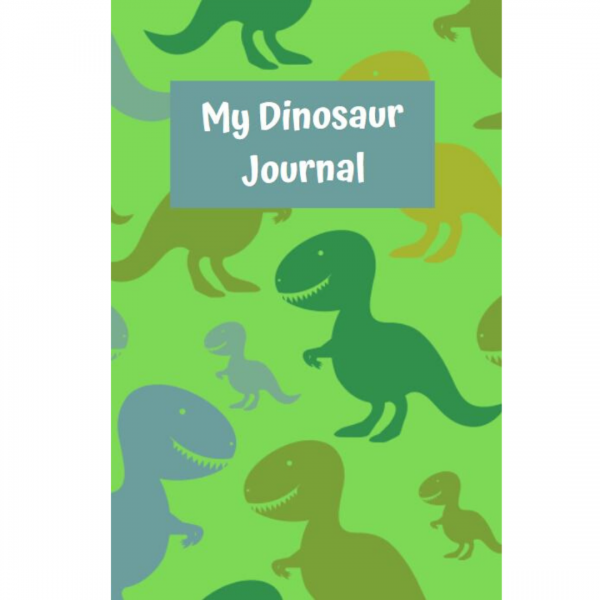 my dinosaur journal cover
