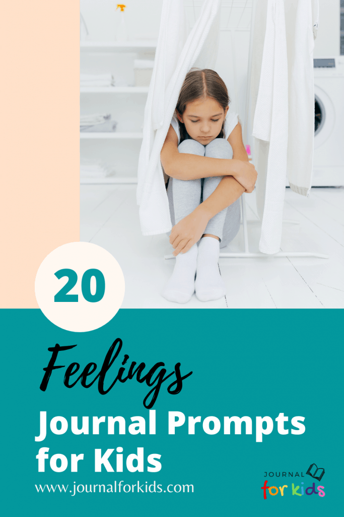 Feelings Journal Prompts for Kids