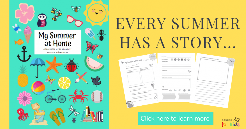 Our summer at home journal ad