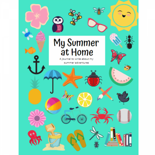 My Summer at Home Guided Journal