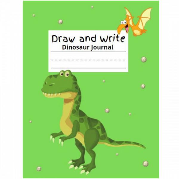 draw and write journal dinosaur