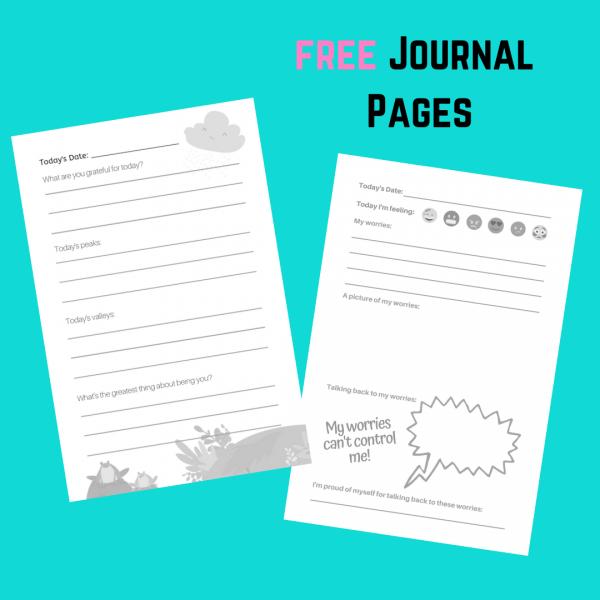 free gratitude journal printable