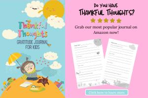 kids gratitude journal ad